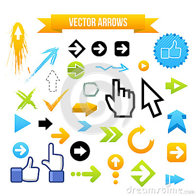 Collection of Vector Arrows