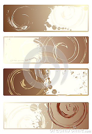 Collection of vector banners