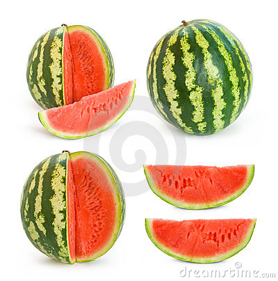 Collection of water melon images