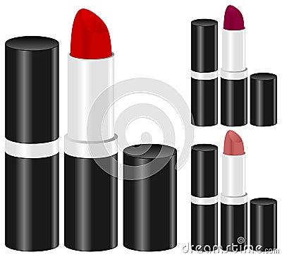 Woman Lipstick Make Up Set