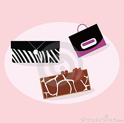Collection of women fashion hand bags