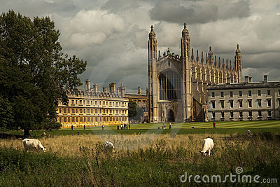 College Chapel, Università Di Cambridge Del Re Immagine Stock - Immagine: 8185801