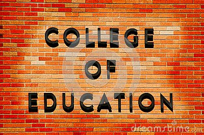 College of Education sign