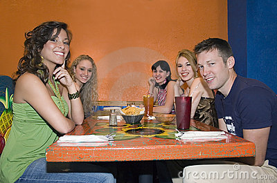 College Friends Having Lunch