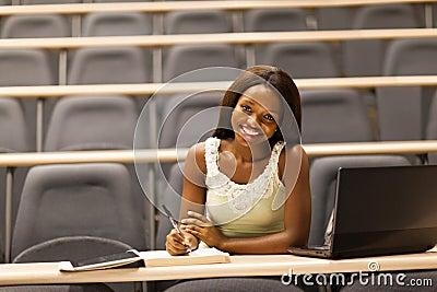 College girl classroom