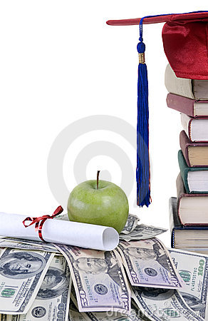 Free College Money Royalty Free Stock Photography - 2905117