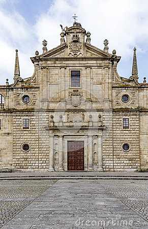 Free College Of Our Lady Of The Old,Monforte Of Lemos Royalty Free Stock Photography - 53039567