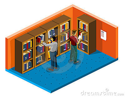 College Student Isometric