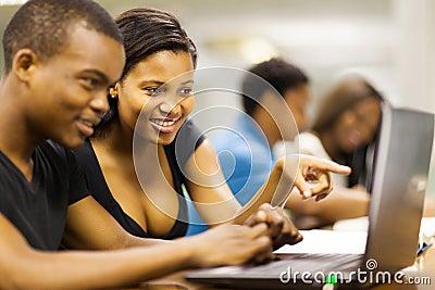 College students laptop