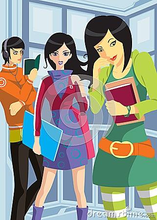 College teenagers
