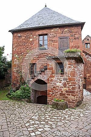 Collonges-la-Rouge, traditional house
