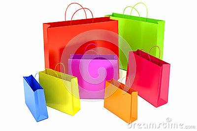 Collorful Shopping Bag