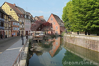 Colmar canal Editorial Image