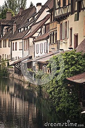 Colmar river , France