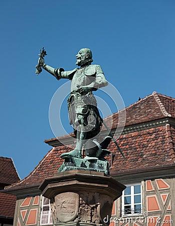 Colmar romantic town in Alsace