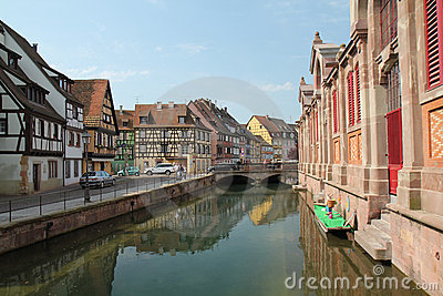 Colmar village at Easter Editorial Photo