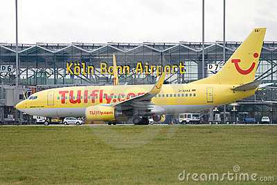 Cologne airport Editorial Image