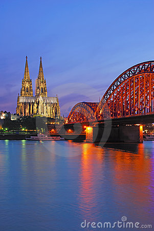 Cologne Cathedral,Germany,Rhine
