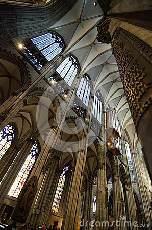 Cologne Cathedral Editorial Image