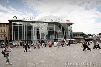 Cologne Central Station Editorial Image