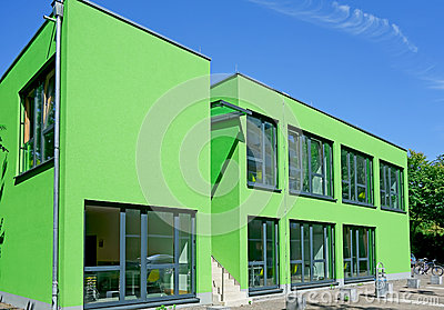 Cologne Green Cube Editorial Image