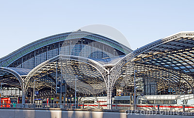 Cologne Main Station Editorial Image
