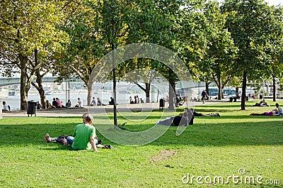 Cologne. Park Editorial Photo