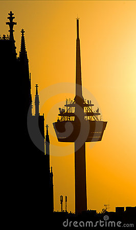 Cologne, Radio tower and dom