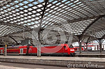 Cologne Railwail Station