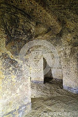 Colombia, Ancient tomb in Tierradentro