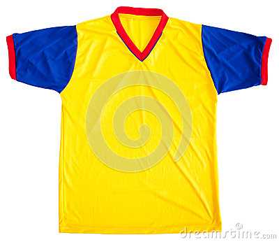 Colombian football shirt