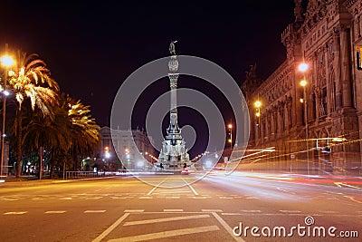 Colon statue