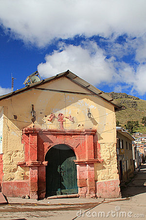 Colonial chapel