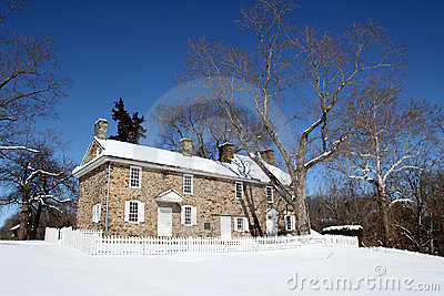 Colonial Home - Washington Crossing State Park, PA