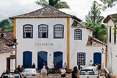 Colonial House Tiradentes Brazil Editorial Stock Image