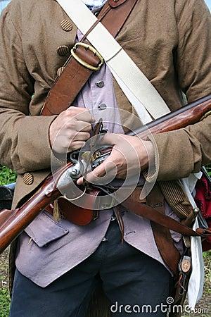 Free Colonial Militiaman Stock Images - 2588144