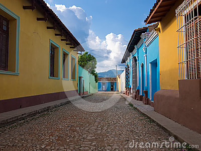 The colonial town of Trinidad in CubaA