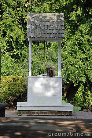 Colonial Water Well Stock Images Image 20415044