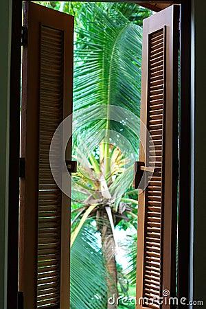 Colonial window shutters