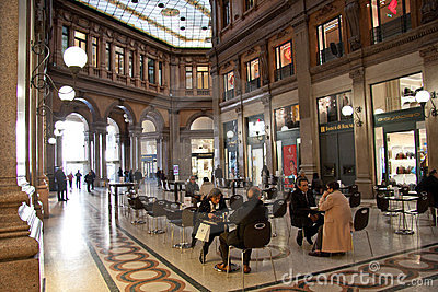 Colonna Art Gallery, Rome Editorial Stock Photo