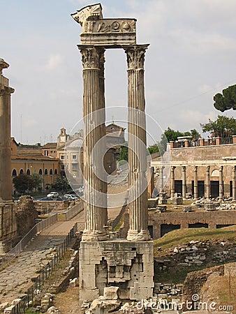 Free Colonna Dil Foro Romano Royalty Free Stock Photo - 32895