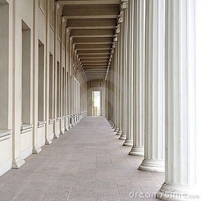 Colonnade and Columns