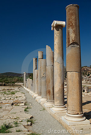 Colonnade, Patara, Turkey