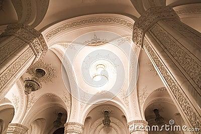 Colonne Di Marmo Del Particolare Interno Fotografia Stock - Immagine: 4100520