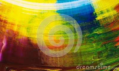 Color abstract background inks different color