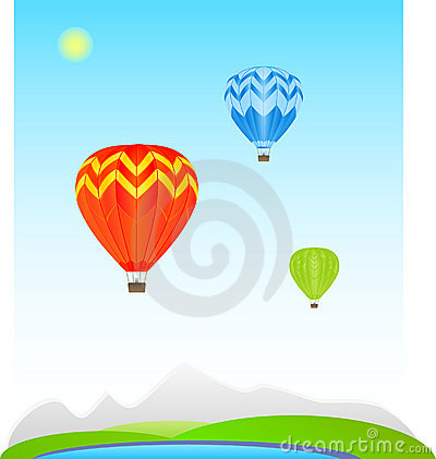 Color Air balloons