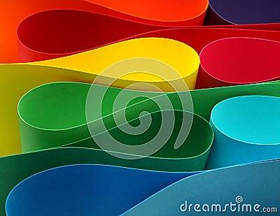 Color arc formation