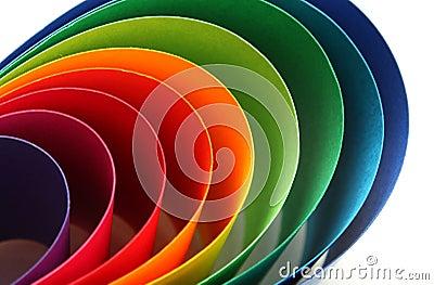 Color arc spectrum