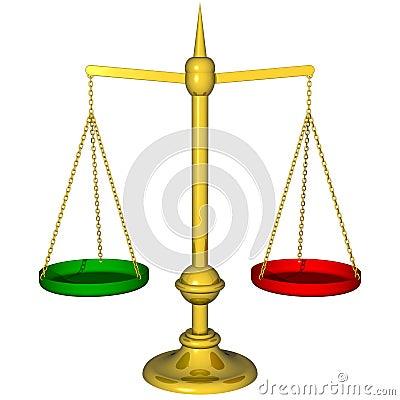 Color Balance Concept