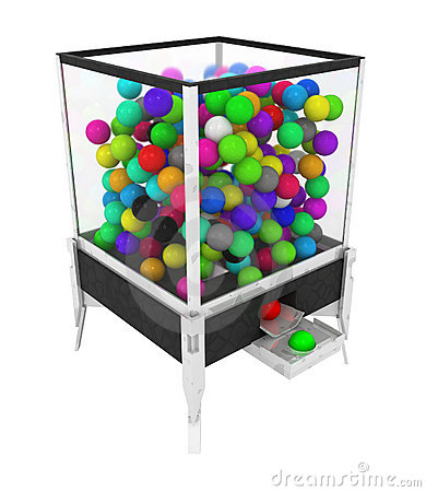 Color Ball Box Machine